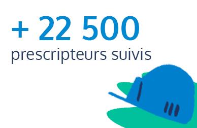 22500 prescripteurs suivis par EXPLORE