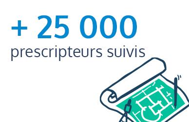 25000 prescripteurs suivis par EXPLORE
