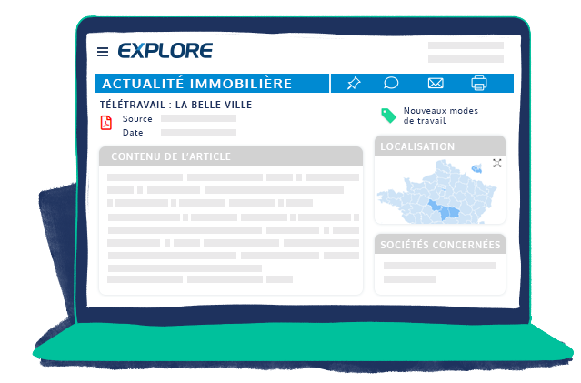 Espace client fiche actualite immobiliere EXPLORE