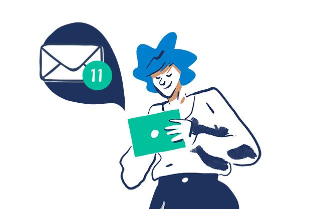 recevez au quotidien l'actualité qui vous correspond directement dans votre boîte mail