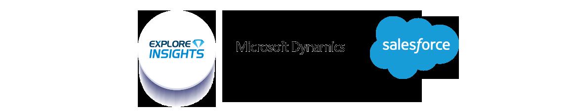 EXPLORE Insight pour les CRM microsoft dynamics et salesforce