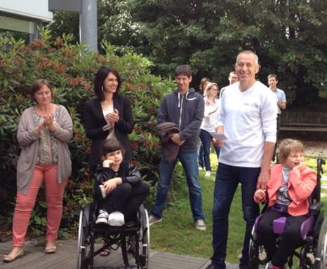 Challenge Marche d'EXPLORE pour soutenir le handicap