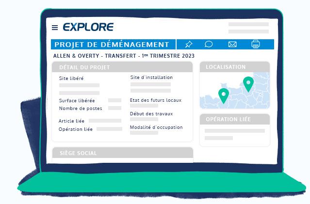 Détectez les projets de déménagement de entreprise grâce à nos data depuis l'espace client